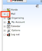 Horde Mail Expand Button